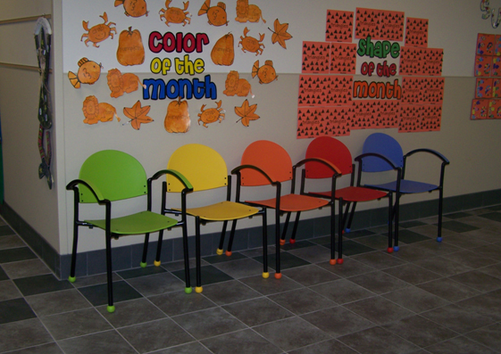 Maryetta School Affordable And Colorful Waiting Room