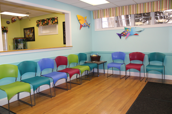 Children s health care s beautiful waiting rooms for Kids waiting room furniture