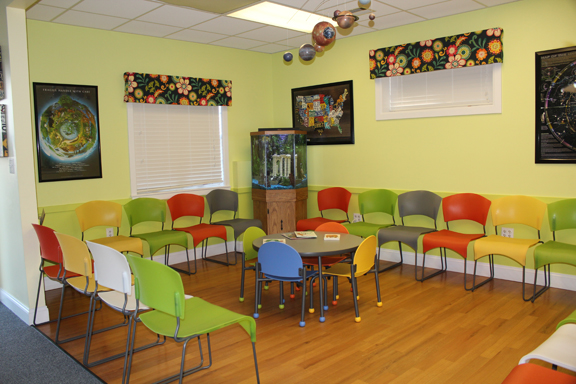 children s health care s beautiful waiting rooms affordable and colorful waiting room chairs. Black Bedroom Furniture Sets. Home Design Ideas