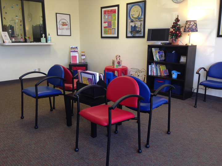 Blast off therapy children services affordable and for Kids waiting room furniture