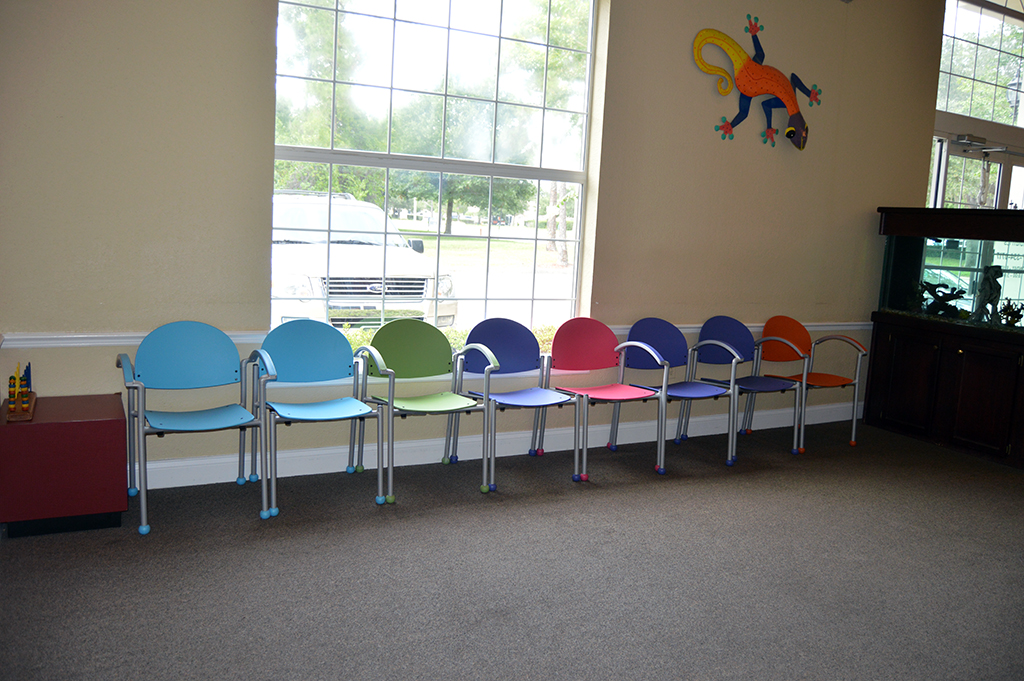 Affordable And Colorful Waiting Room Chairs Tables And
